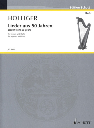 Heinz Holliger: Lieder from 50 years