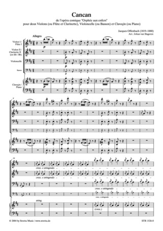 Jacques Offenbach: Cancan