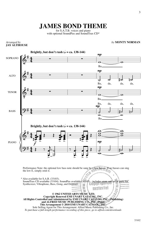 Monty Norman: James Bond Theme (1)