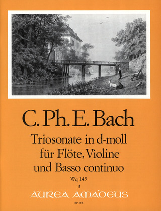 Carl Philipp Emanuel Bach: Sonata a tre in D minor