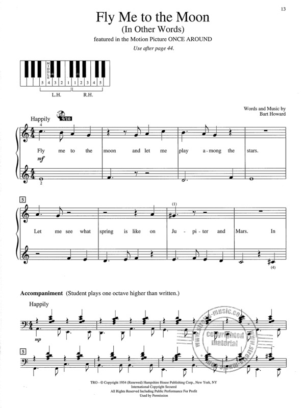 Popular Piano Solos: First Grade - Pop Hits, Broadway