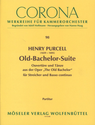 Henry Purcell: Old-Bachelor-Suite Z 607