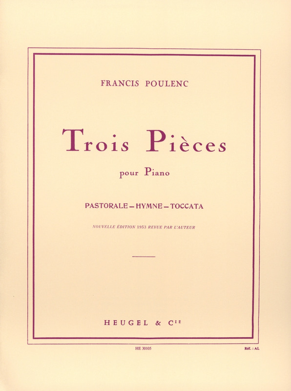 Francis Poulenc: 3 Pieces
