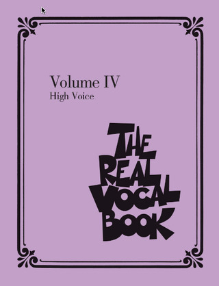 The Real Vocal Book 4 – High Voice