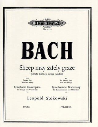 Johann Sebastian Bach: Sheep May Safely Graze	BWV 208