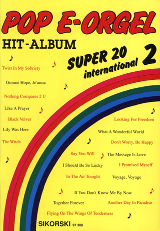 Pop E-Orgel Hit-Album Super 20: International 2