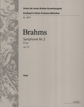 Johannes Brahms: Symphony No. 2 in D major op. 73