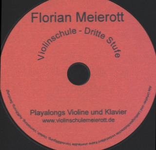 Florian Meierott: Violinschule 3 – Playalong-CD
