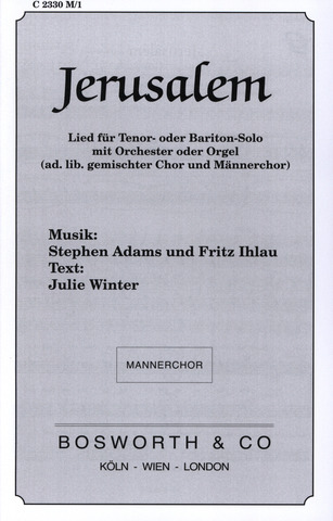 Stephen Adams et al.: Jerusalem