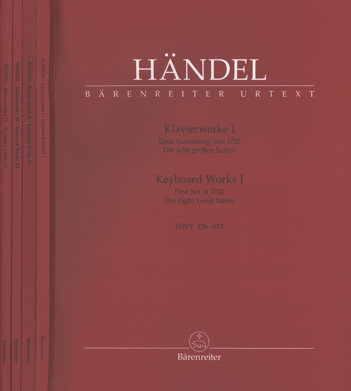 George Frideric Handel: Keyboard Works I-IV