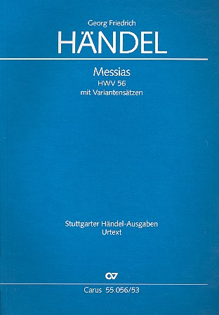 Georg Friedrich Händel: Messias HWV 56