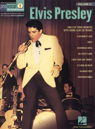 Elvis Presley: Pro Vocal Men's Edition Volume 23: Elvis Presley