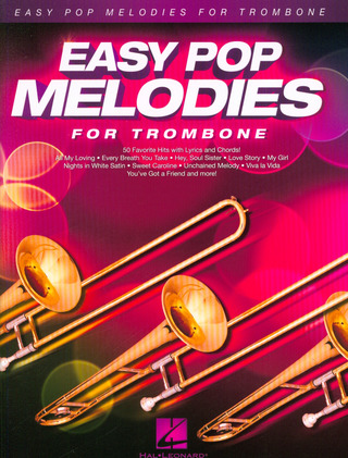 Easy Pop Melodies - for Trombone