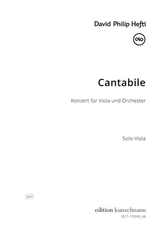 David Philip Hefti: Cantabile