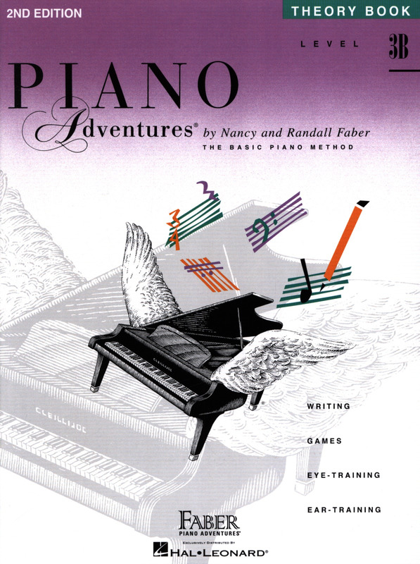 Randall Faber et al.: Piano Adventures 3B –  Theory