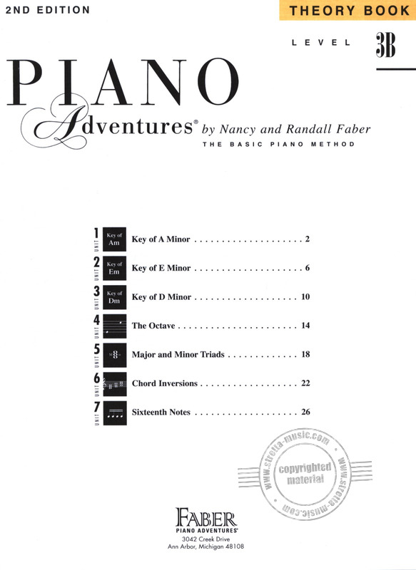 Randall Faber et al.: Piano Adventures 3B –  Theory (1)