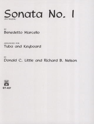 Benedetto Marcello: Sonate 1 F-Dur