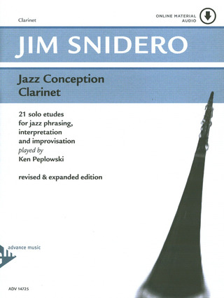 Jim Snidero: Jazz Conception – Clarinet