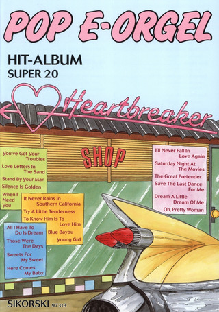 Pop E-Orgel Hit-Album Super 20: Heartbreaker