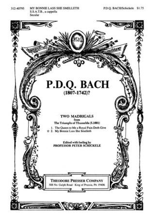 P.D.Q. Bach: 2 Madrigals 2 From Triumphs Of Thusnelda
