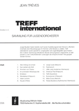 Jean Trèves: Treff International 1