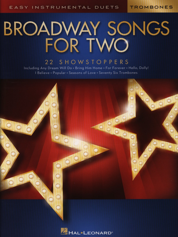 Broadway Songs for Two Trombones