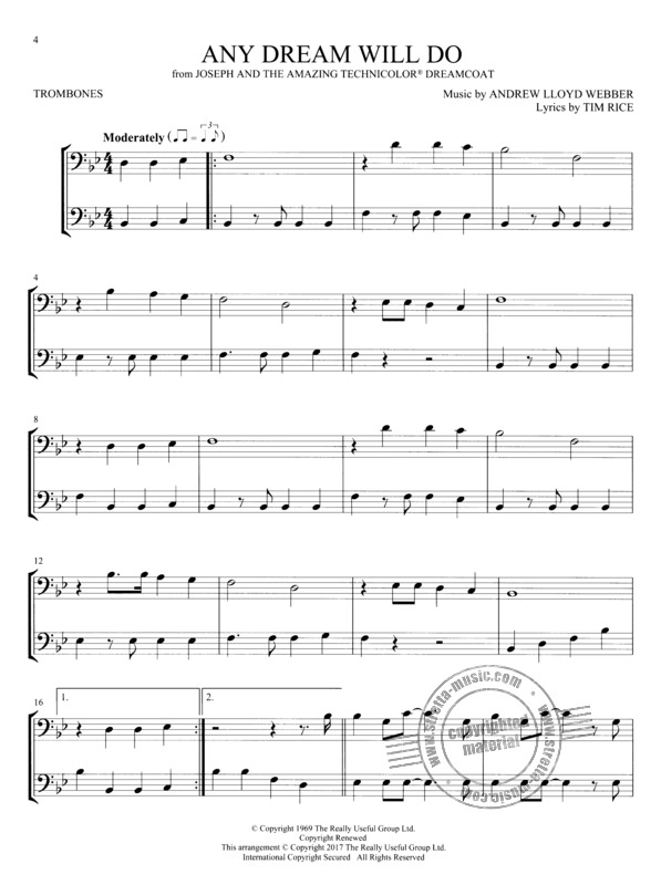 Broadway Songs for Two Trombones (1)