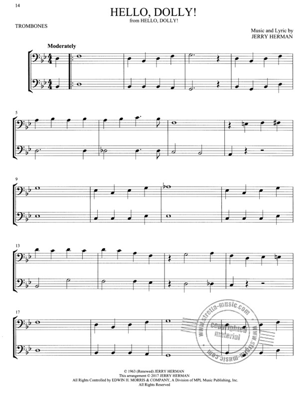 Broadway Songs for Two Trombones (2)