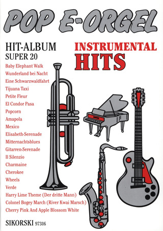Pop E-Orgel Hit-Album Super 20: Instrumental-Hits