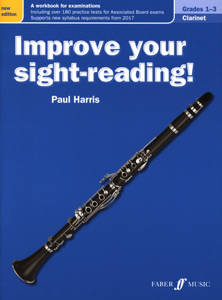 Paul Harris: Improve Your Sight-Reading! Clarinet Grades 1-3 (New Edition)