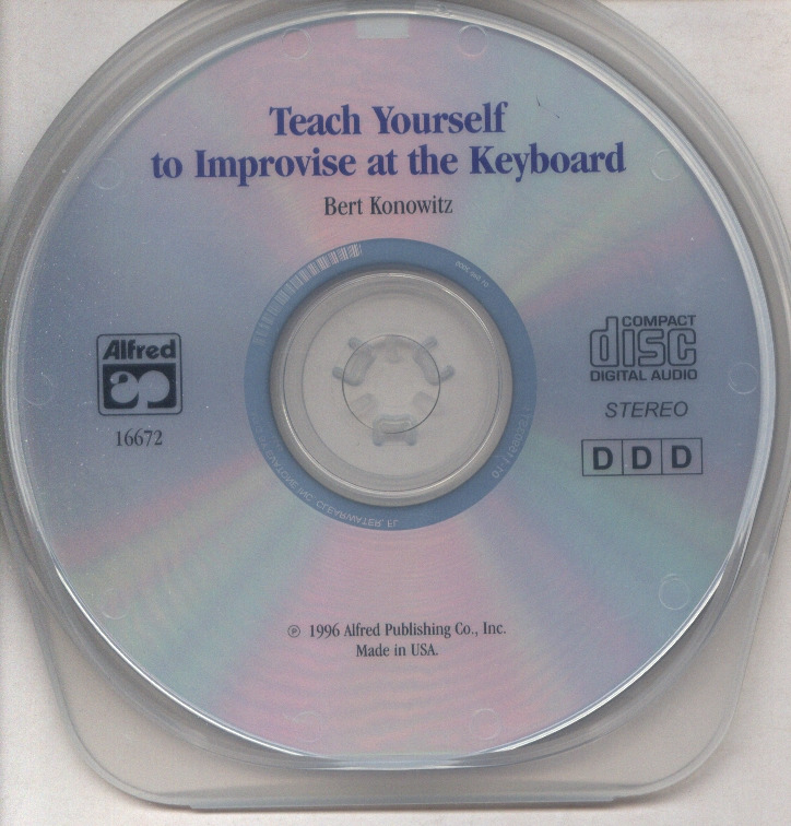 Konowitz B.: Teach Yourself To Improvise At The Keyboard