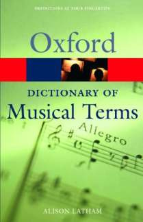 Latham Alison: Oxford Dictionary Of Musical Terms