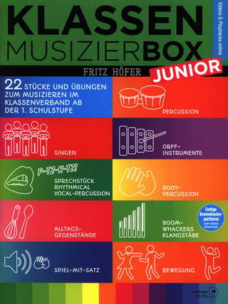 Fritz Höfer: Klassenmusizierbox Junior
