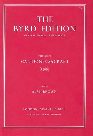 William Byrd: Cantiones Sacrae I