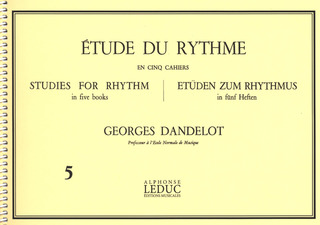 Georges Dandelot: Studies for Rhythm 5