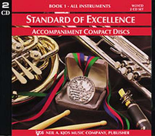 Standard of Excellence 1 – 2 CDs