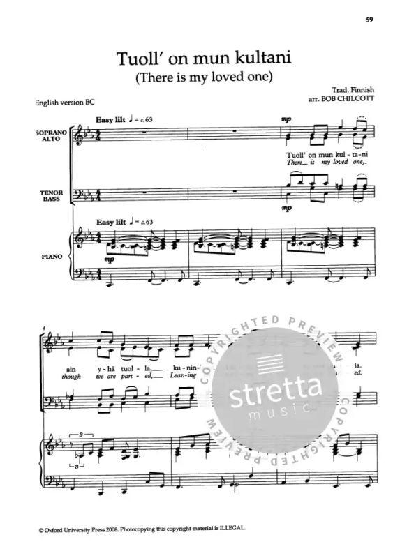 Jazz Folk Songs for Choirs | buy now in Stretta sheet music
