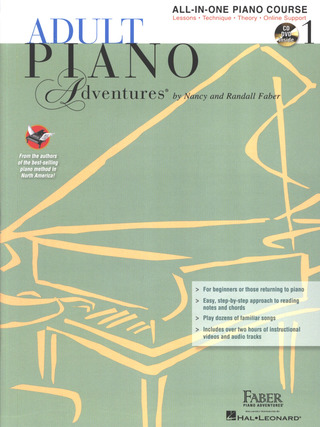 Randall Faber m fl.: Adult Piano Adventures: All-In-One Lesson 1