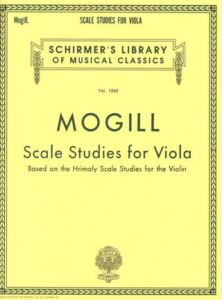 Leonard Mogill: Scale Studies for Viola