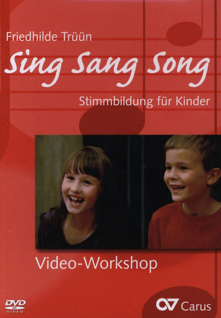 Friedhilde Trüün: Sing Sang Song –  Workshop DVD