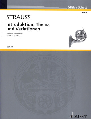 Richard Strauss: Introduktion, Thema und Variationen op. AV. 52 (1878)