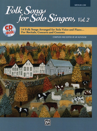 Folk Songs For Solo Singers 2 Medium Low