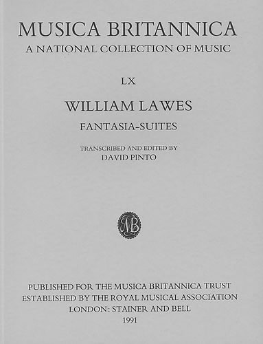 Lawes William: Fantasia Suites