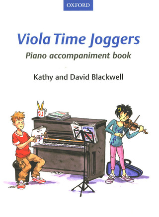 David Blackwell m fl.: Joggers Piano Book – Fiddle Time and Viola Time