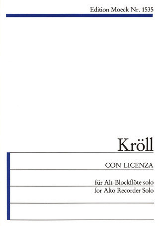 Georg Kröll: Con Licenza