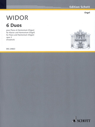 Charles Marie Widor: Sechs Duos