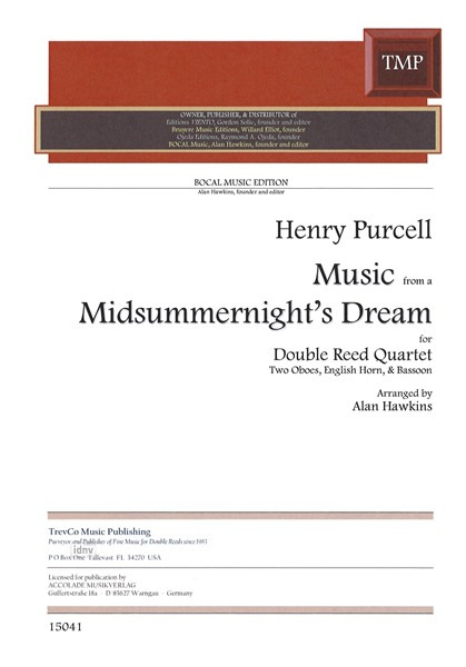 "Henry Purcell: Music from ""A Midsummernight's Dream"""