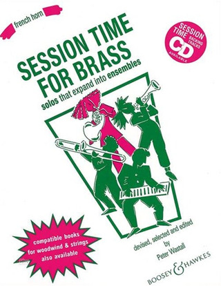 Peter Wastall: Session Time for Brass