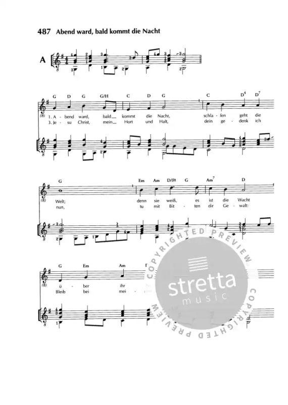 Gitarrenbuch Zum Evangelischen Gesangbuch Im Stretta Noten
