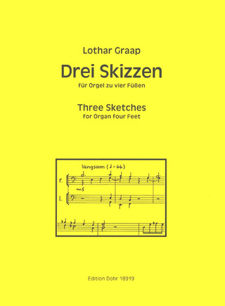 Lothar Graap: Three Sketches